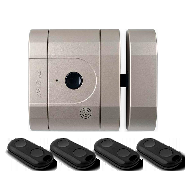 Cerradura invisible de seguridad 142 con mandos RF