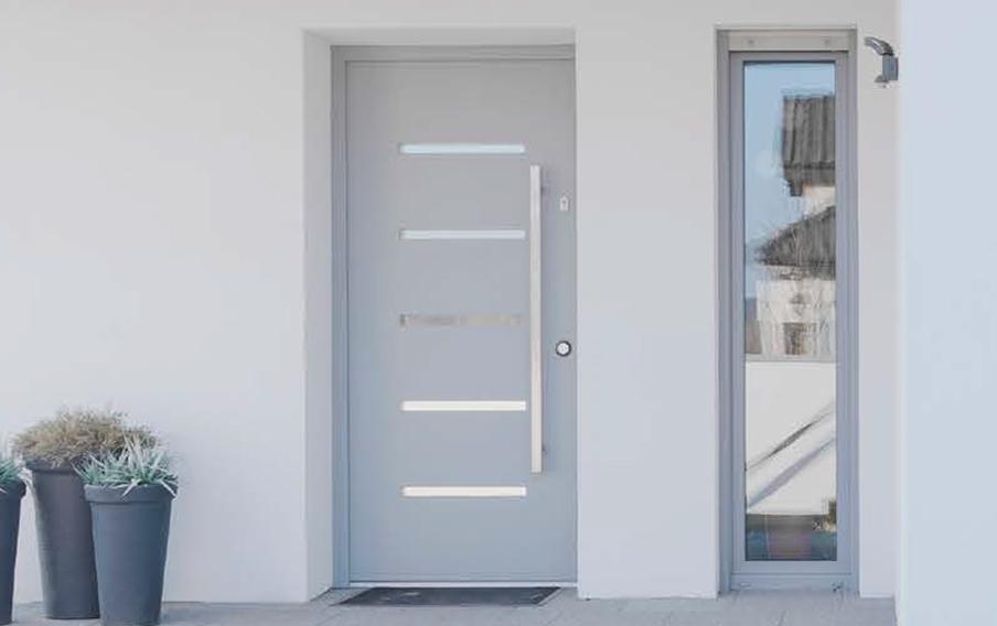 Soluciones para la puerta principal